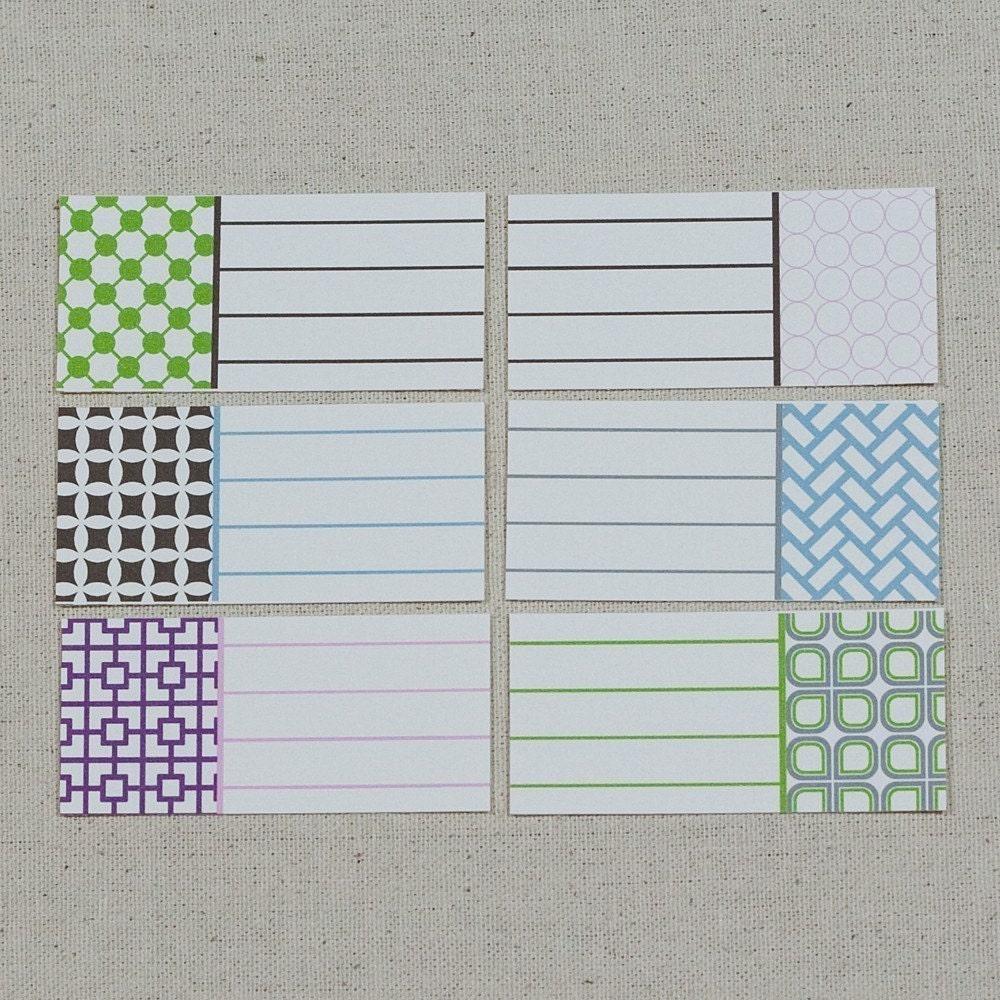 Geometric Journal Tags