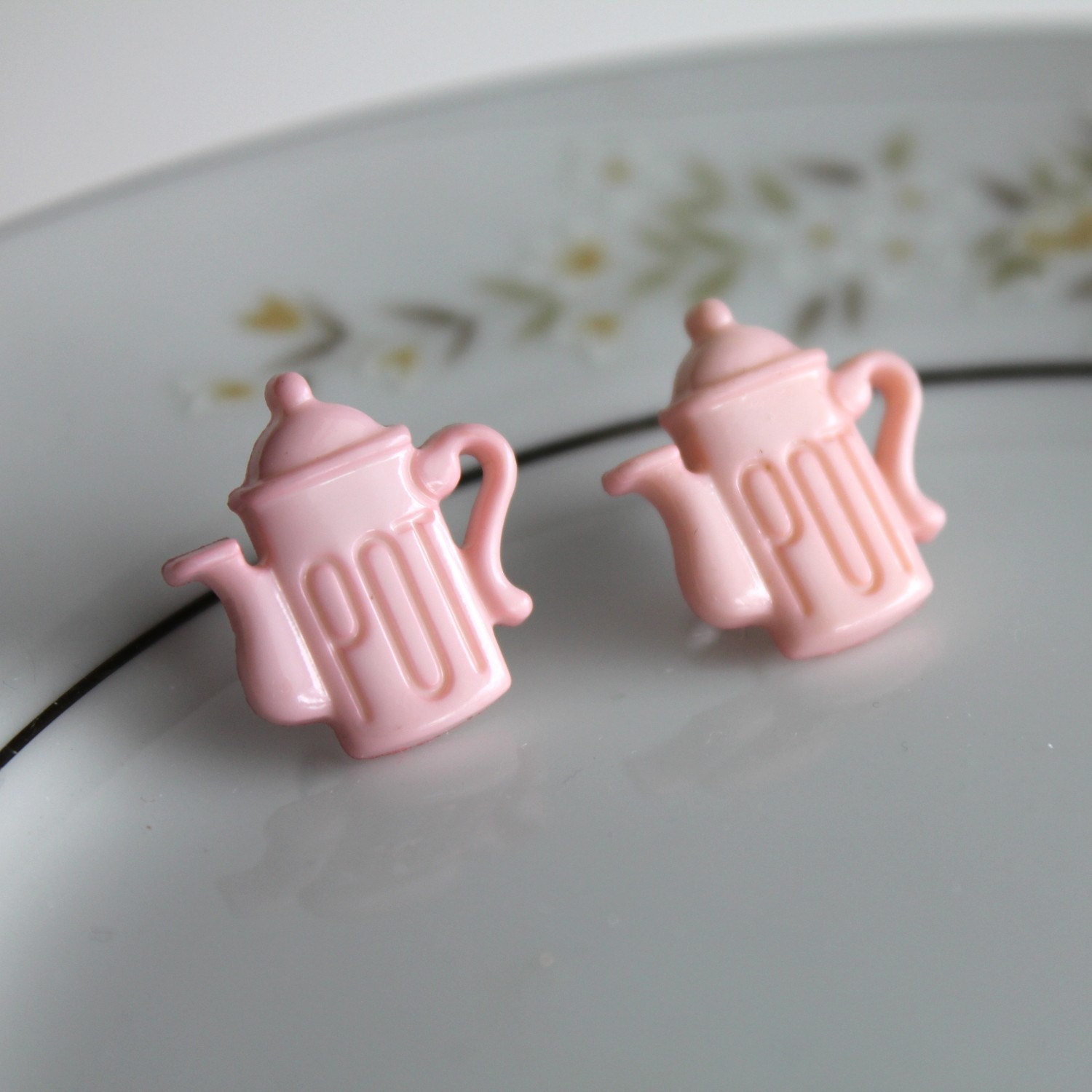 FRESH POTS Post Earrings - Nickel Free
