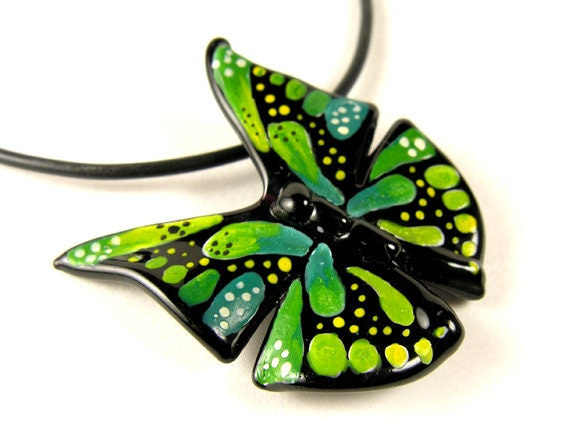 Green & Teal Butterfly
