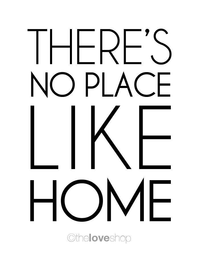 Theres no place like home movie