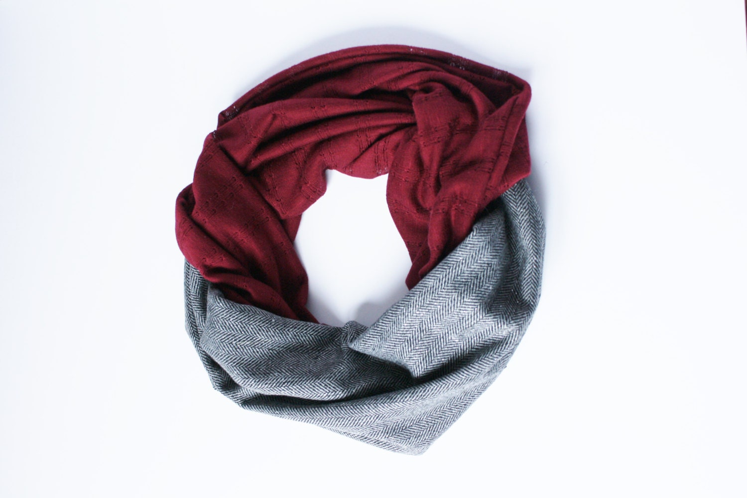 collegiate scarf usc gamecocks garnet and by cottonandcrumb