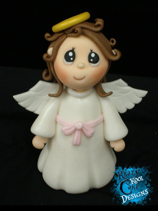 Angel Cake Topper By KrazyKoolCakeDesigns On Etsy