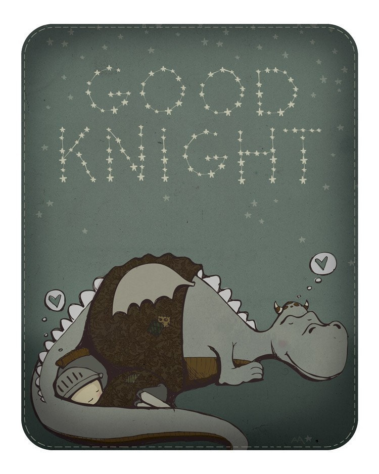 Good Knight print
