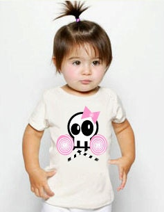 T shirt skull with candy (Children and Baby) - NinukP