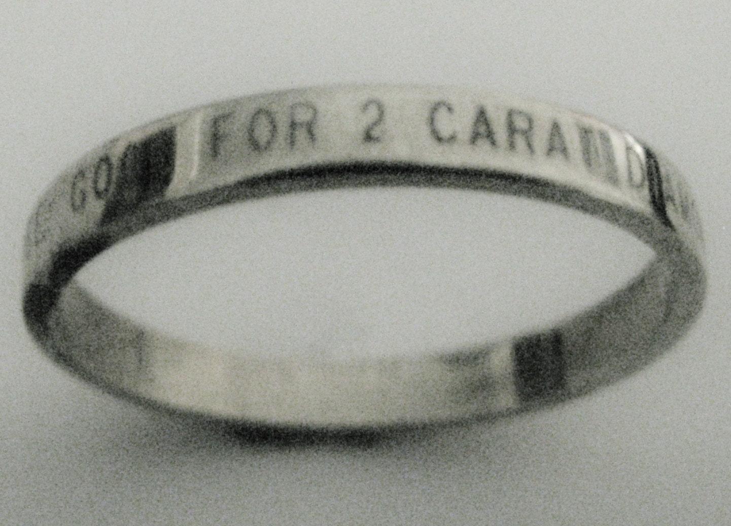 ultimate poor mans promise ring engraved by engraveddesigns