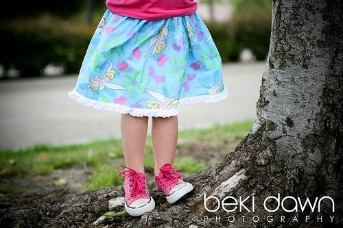 TINKERBELL TuTu skirt by Poppy Sprouts
