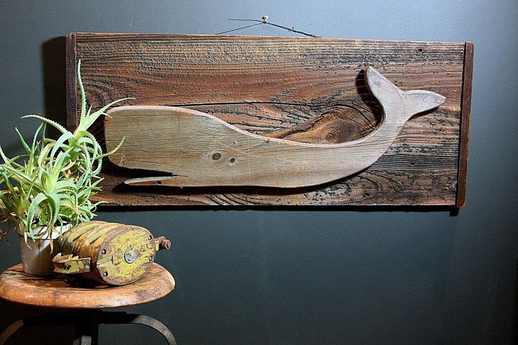 Folk Art Whale
