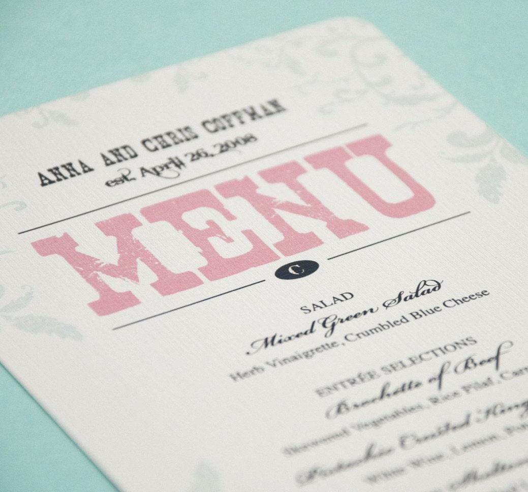 il 430xN39295612 Wedding Menu Card Ideas