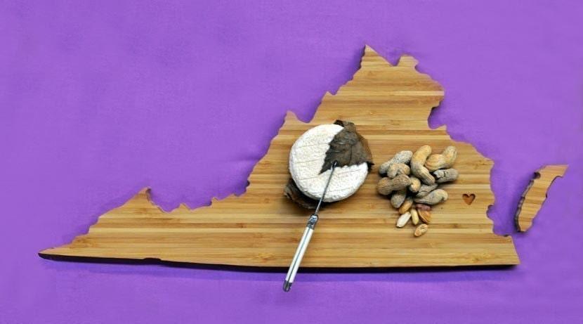 AHeirloom's Virginia State Shaped Cutting Board - AHeirloom