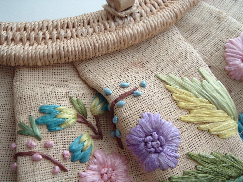 Vintage Woven Summer Purse