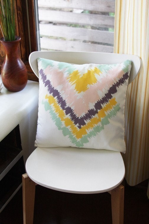 Aztec Removable Throw Pillow Cover
