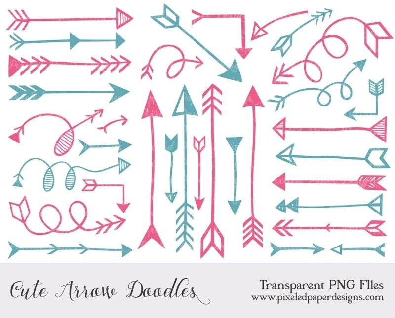 Vintage Arrow Clip Art Arrow Clip Art Quot Arrow Digital
