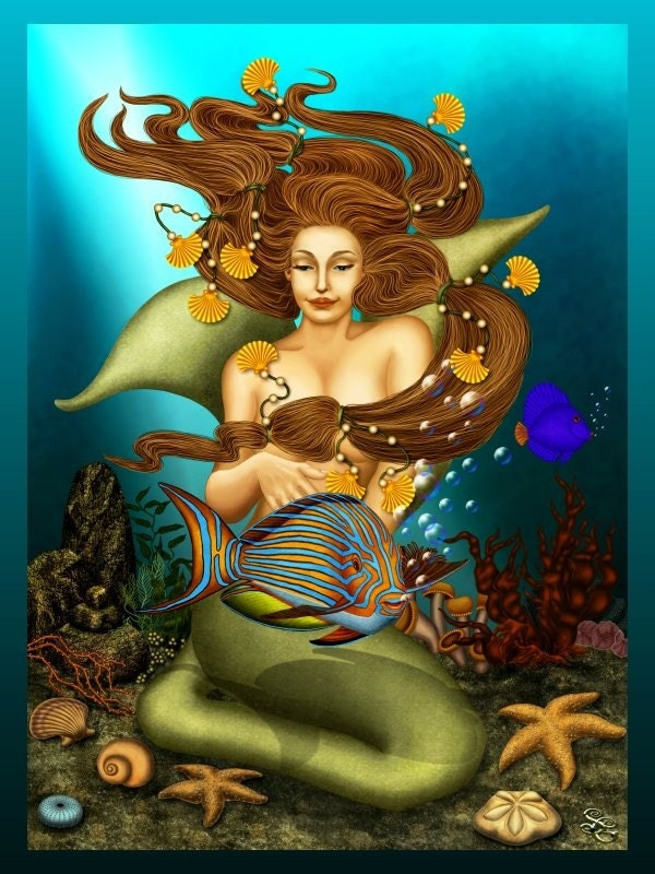 Doreen Virue Magical Mermaid/Dolphin Oracle reading.  Swim into your unconscious mind for a spiritual HEALING.