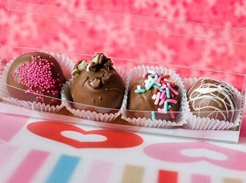 DIY - CAKE BITES - CAKE BALLS - RECIPE - PDF