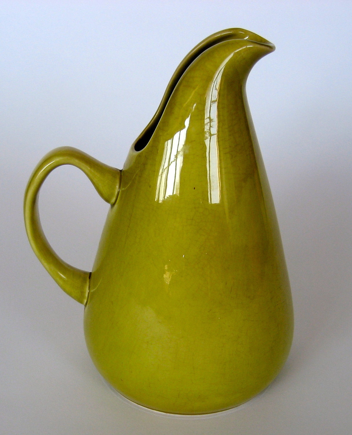 Russel wright american modern pitcher by ilivemodern on etsy - Russel wright pitcher ...