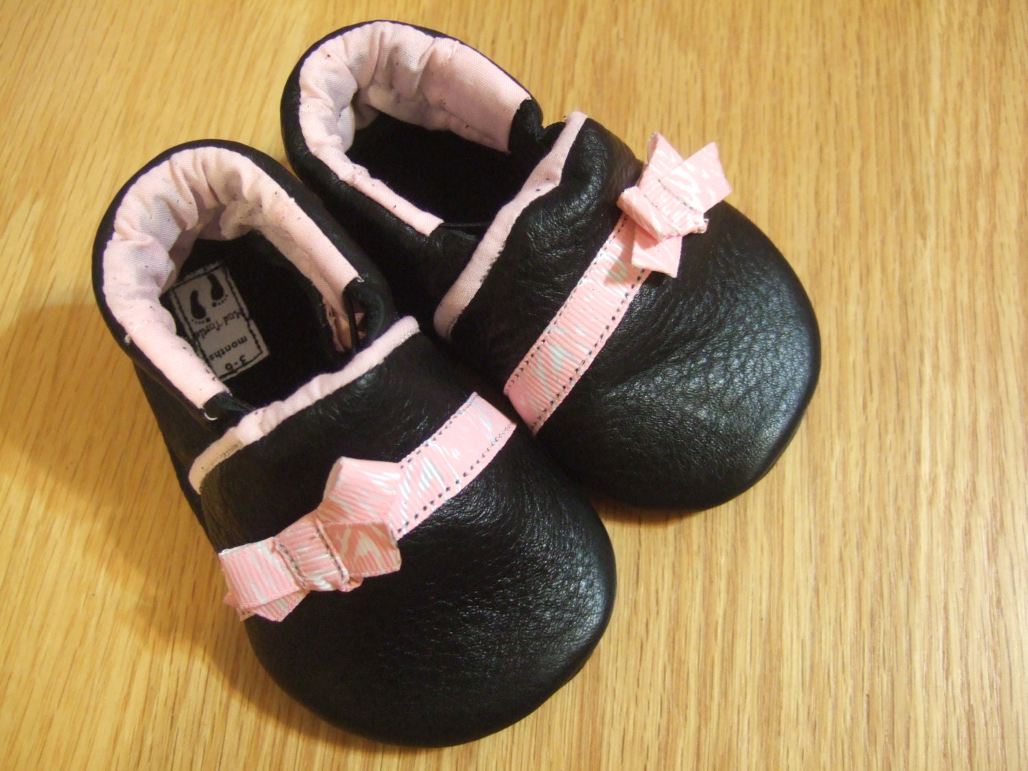 baby girl shoes 3 6 months black with zebra by