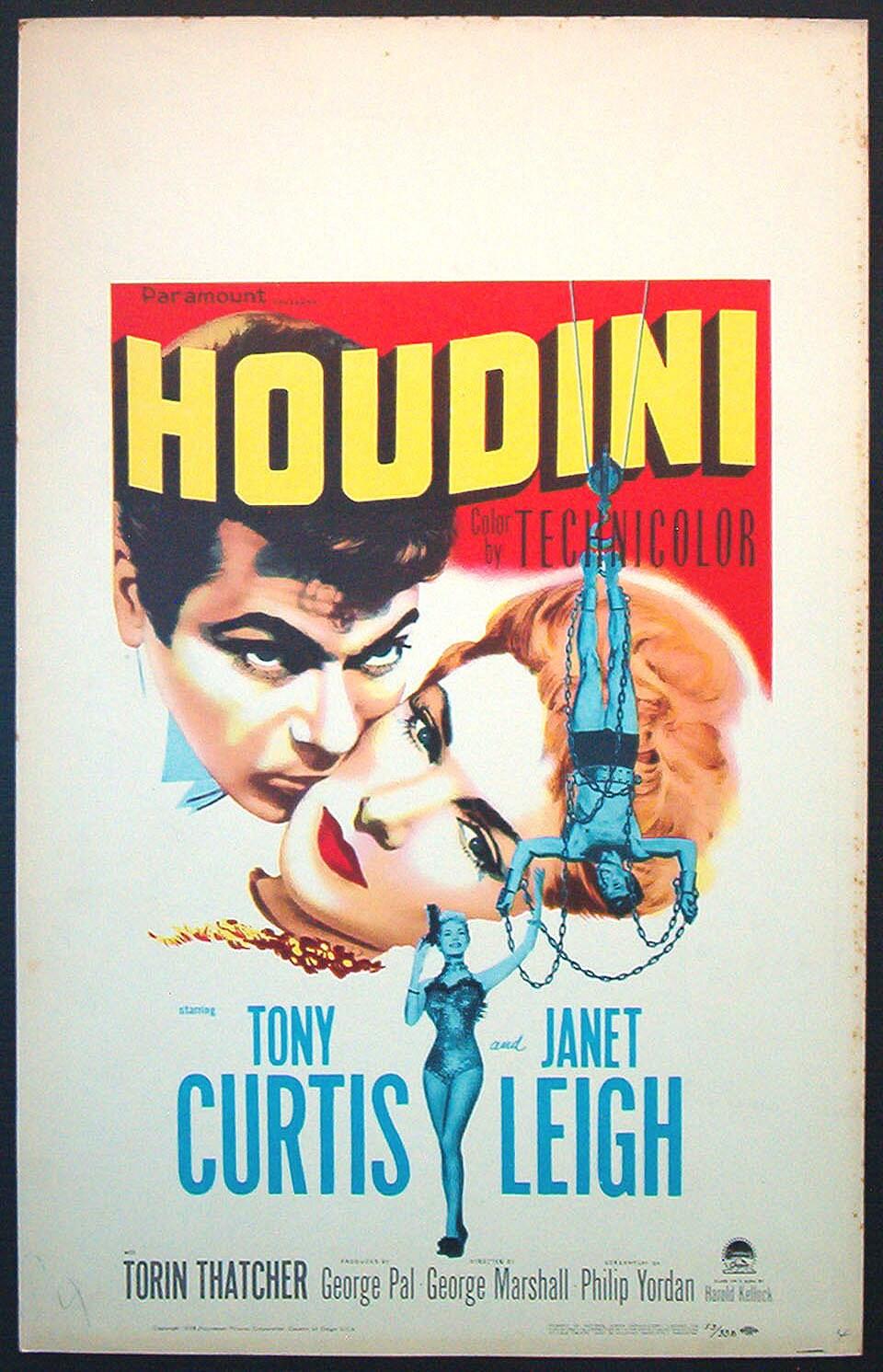 Houdini movie poster