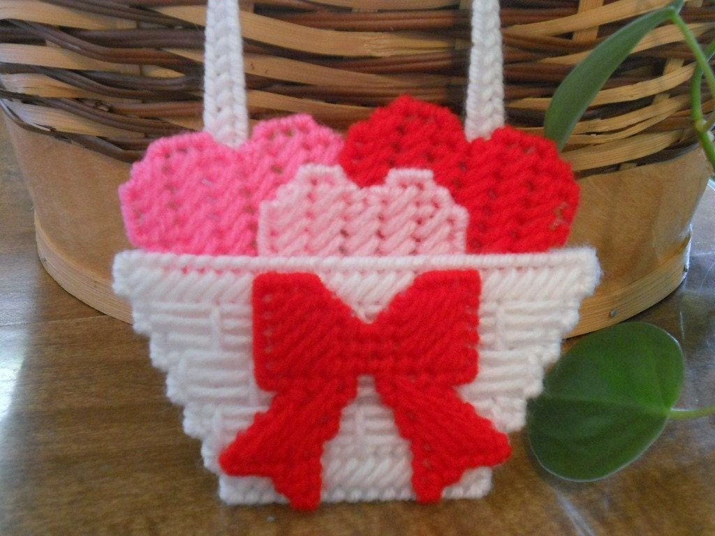 Basket of Hearts Magnet