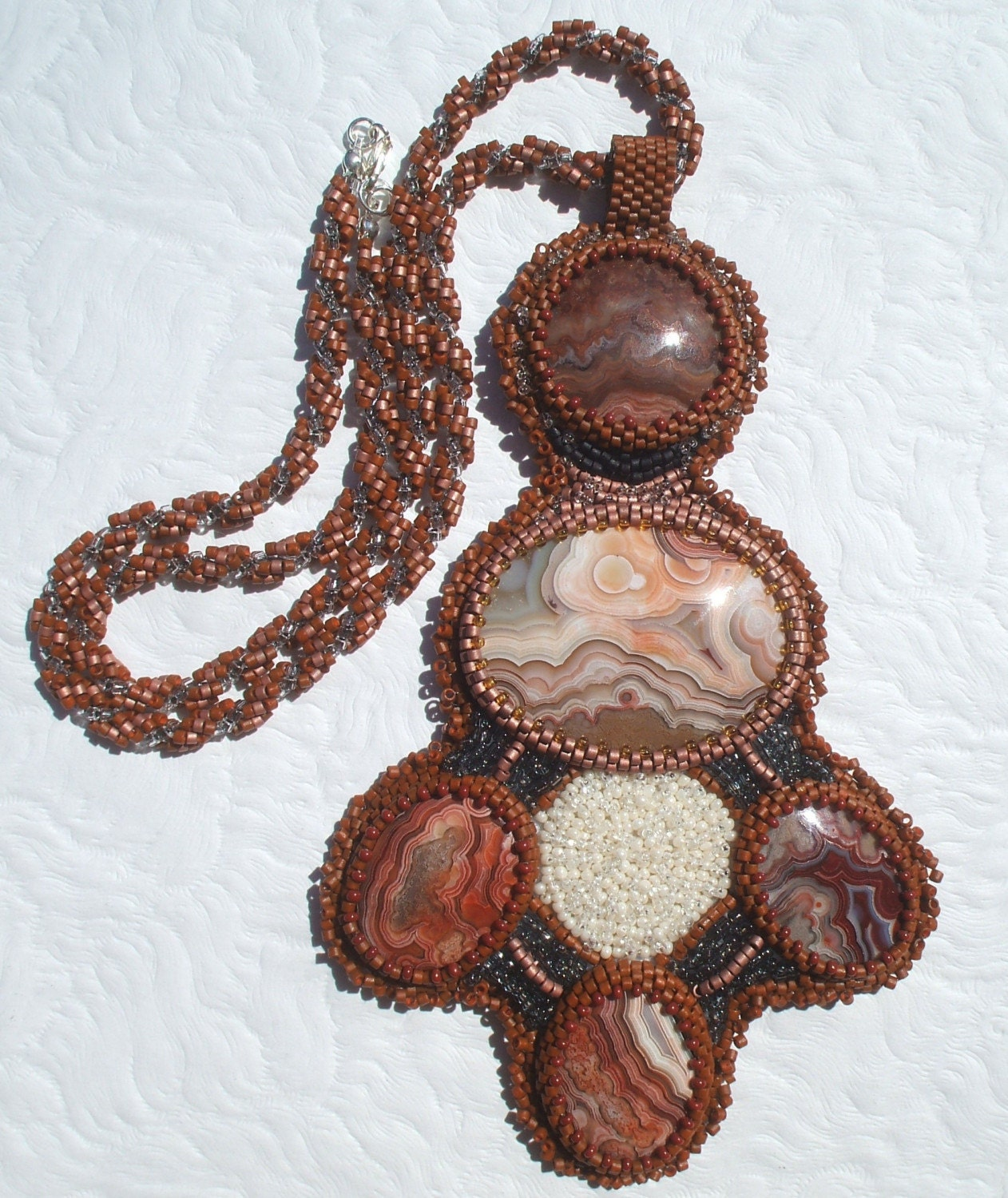 Copper Canyon Sunrise Necklace