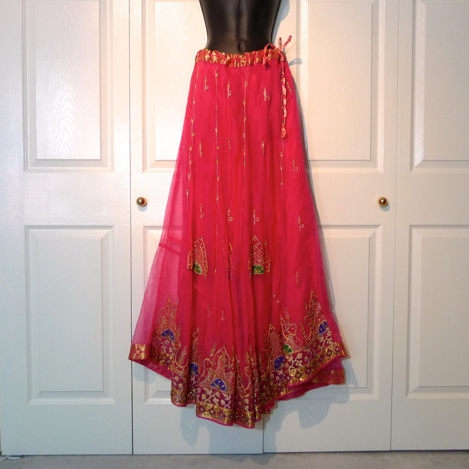 indian skirt maxi skirt from india diwali vintage by
