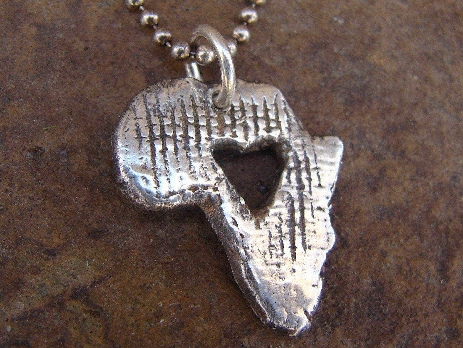 Heart for AFRICA necklace
