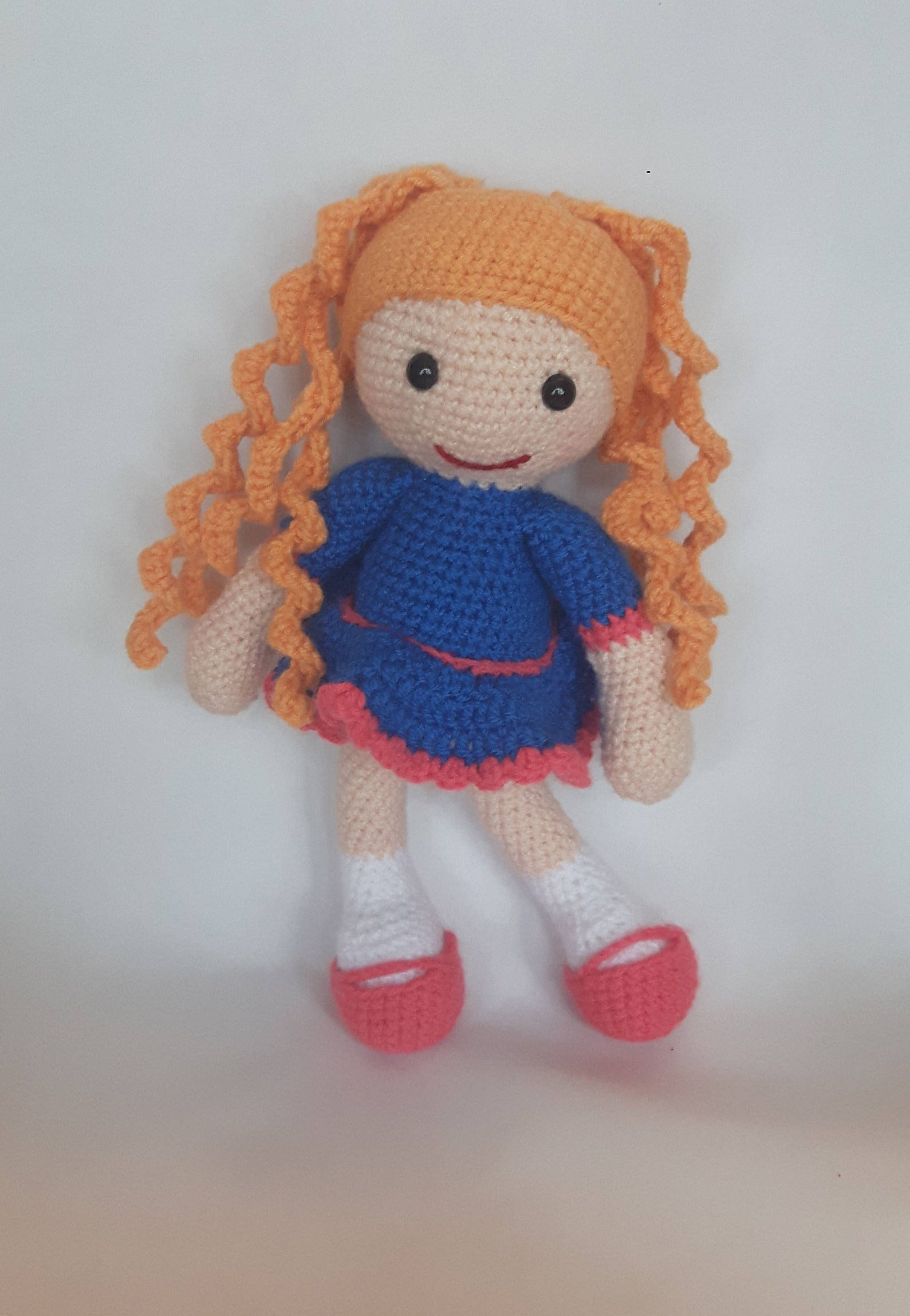 Amigurumi Goldilocks Doll Crochet Doll Handmade Soft toy kids toy