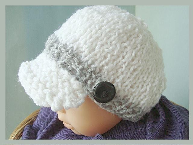KNITTING PATTERN Hat num. 402 Summer weight Newsboy by Hectanooga