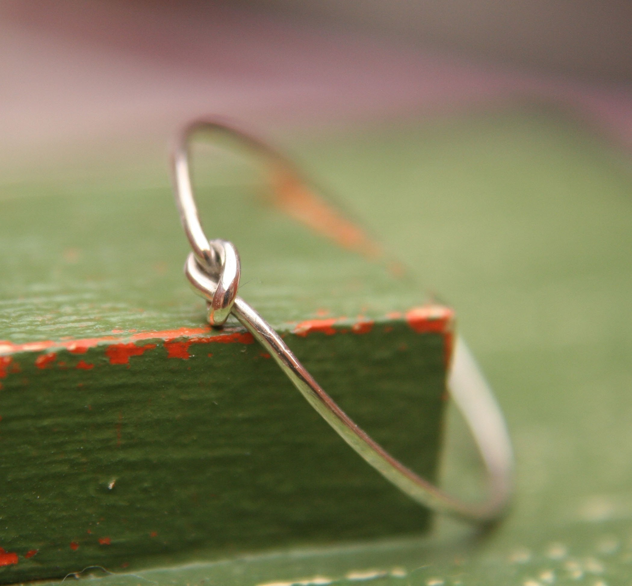 Knot Ring - Sterling Silver