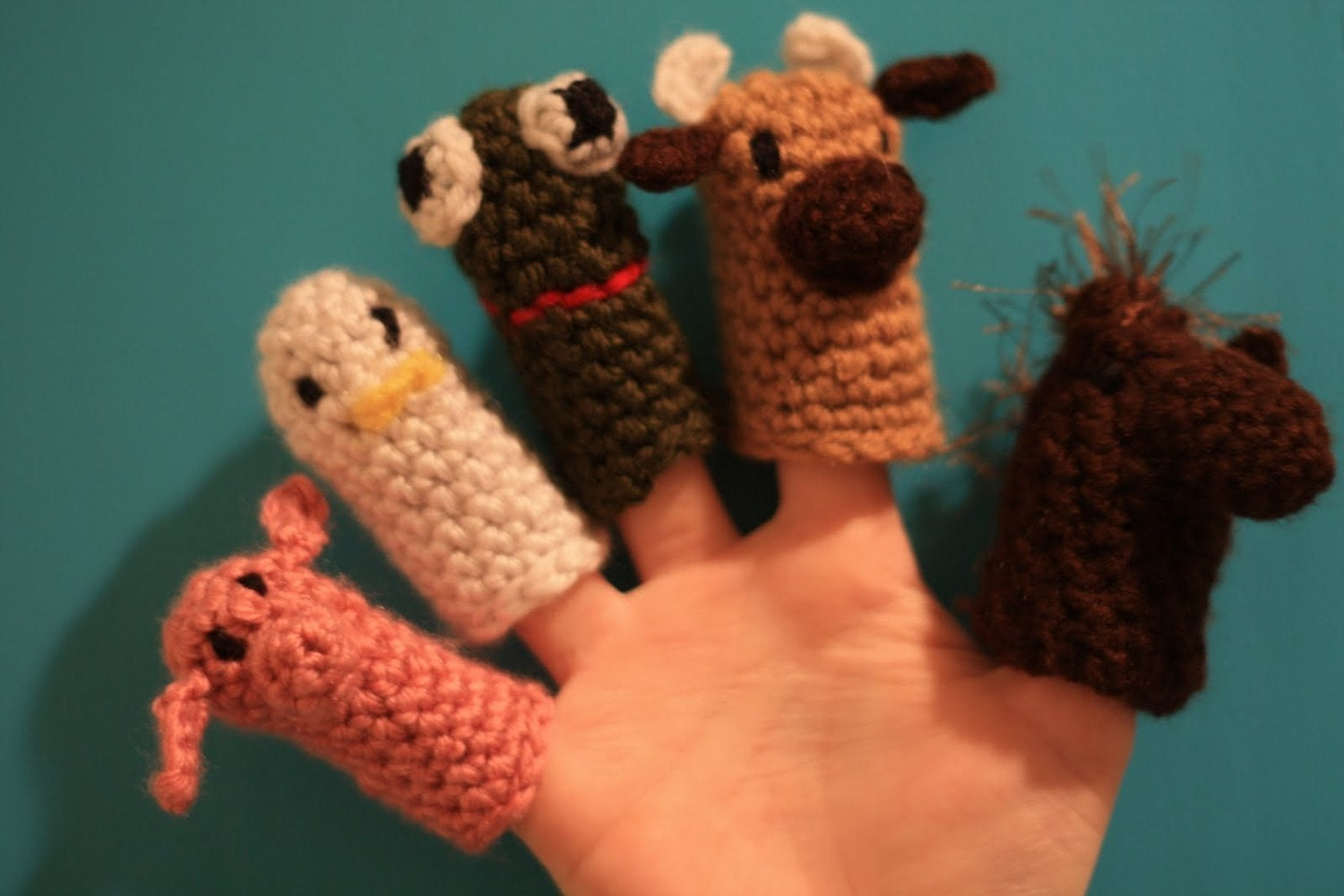 MOO Cow Finger Puppets
