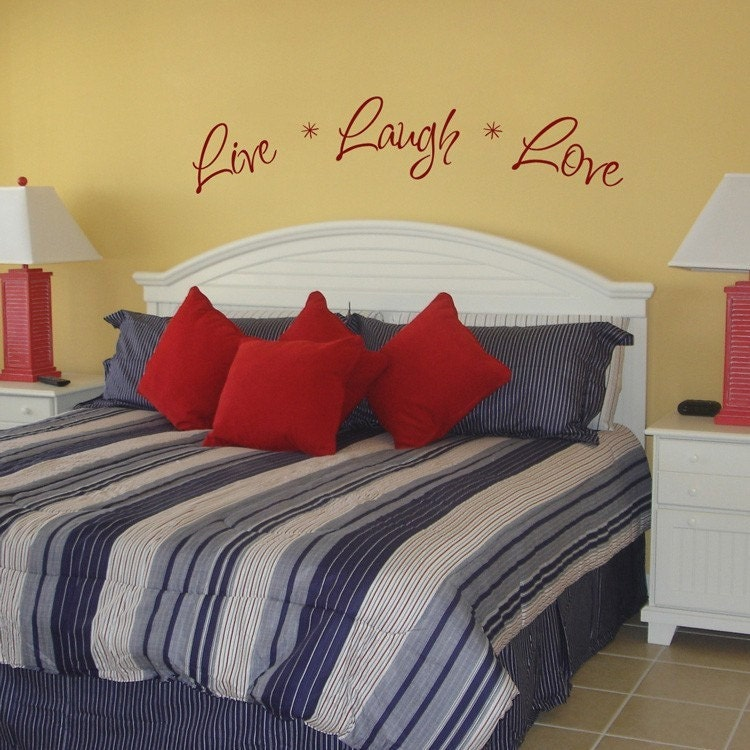 live laugh and love quotes. Live Laugh Love - Wall Decals