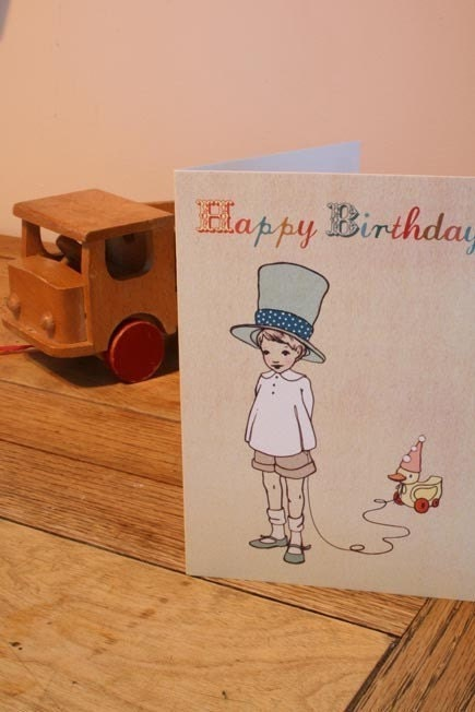 I Like Your Hat Birthday Card
