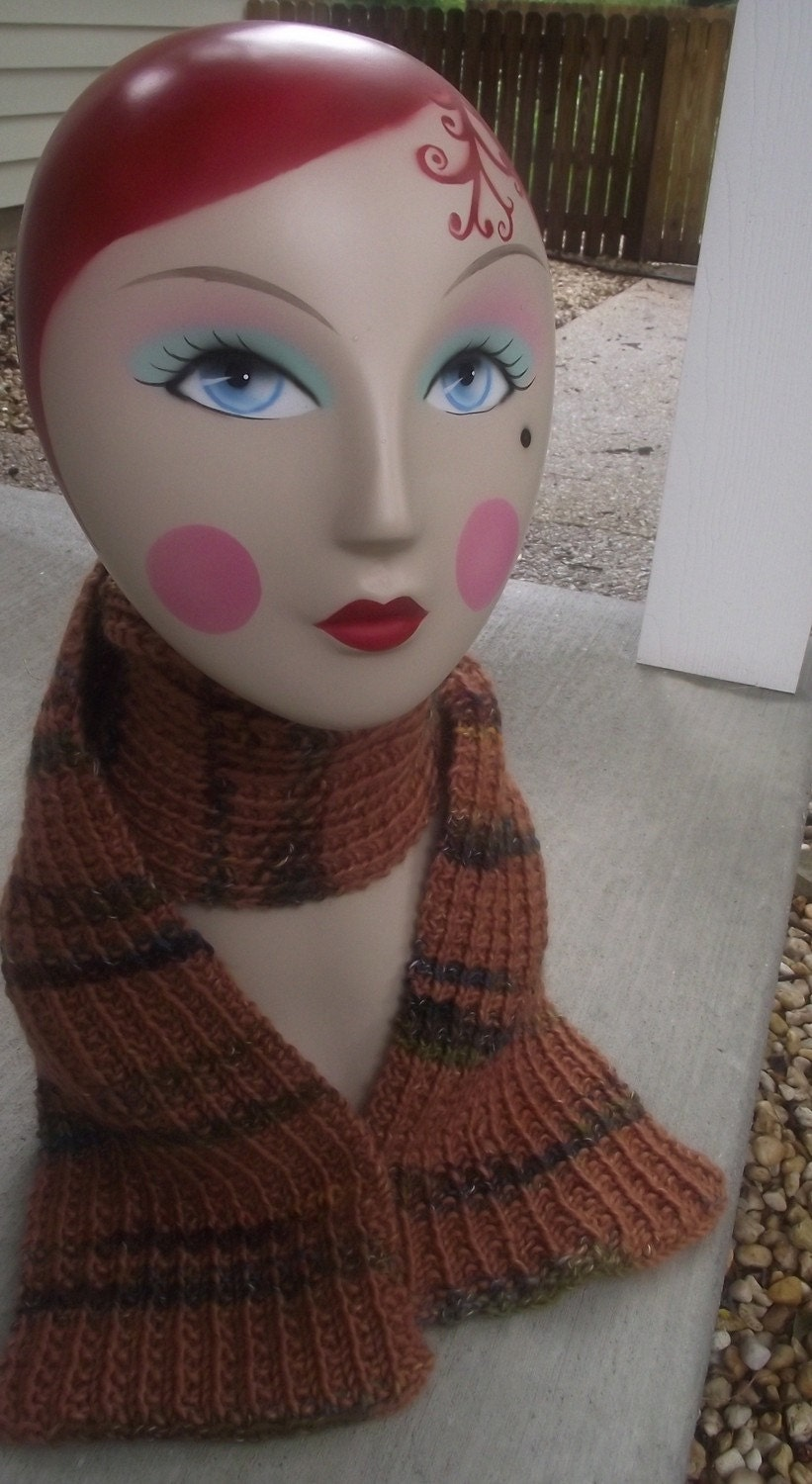 Warm and Snuggly Knit Scarf on Sale