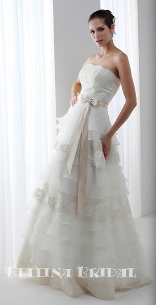 Nadine Wedding Dress by bellinabridal on Etsy from etsy.com