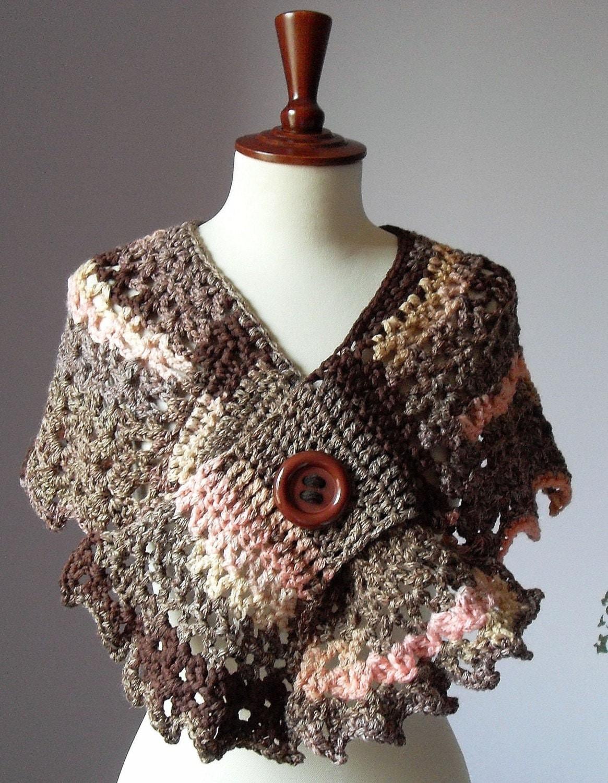 BUTTERFLY EFFECT - Crochet Capelet