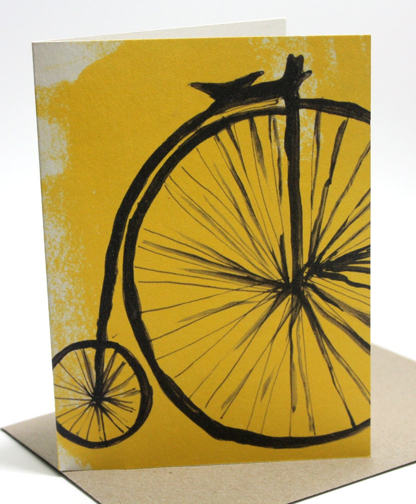 Penny Farthing Gift Card