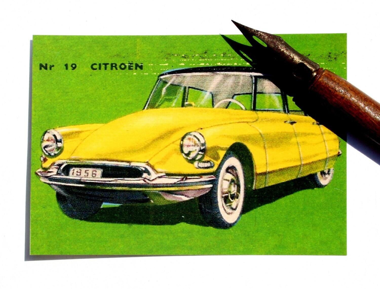 ACEO/Citroen/Vintage Cars