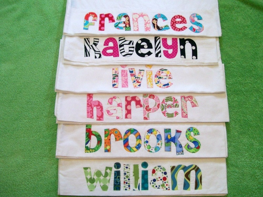Diy Pillowcase With Name: personalized pillow case party favors  This would be awesome for a    ,