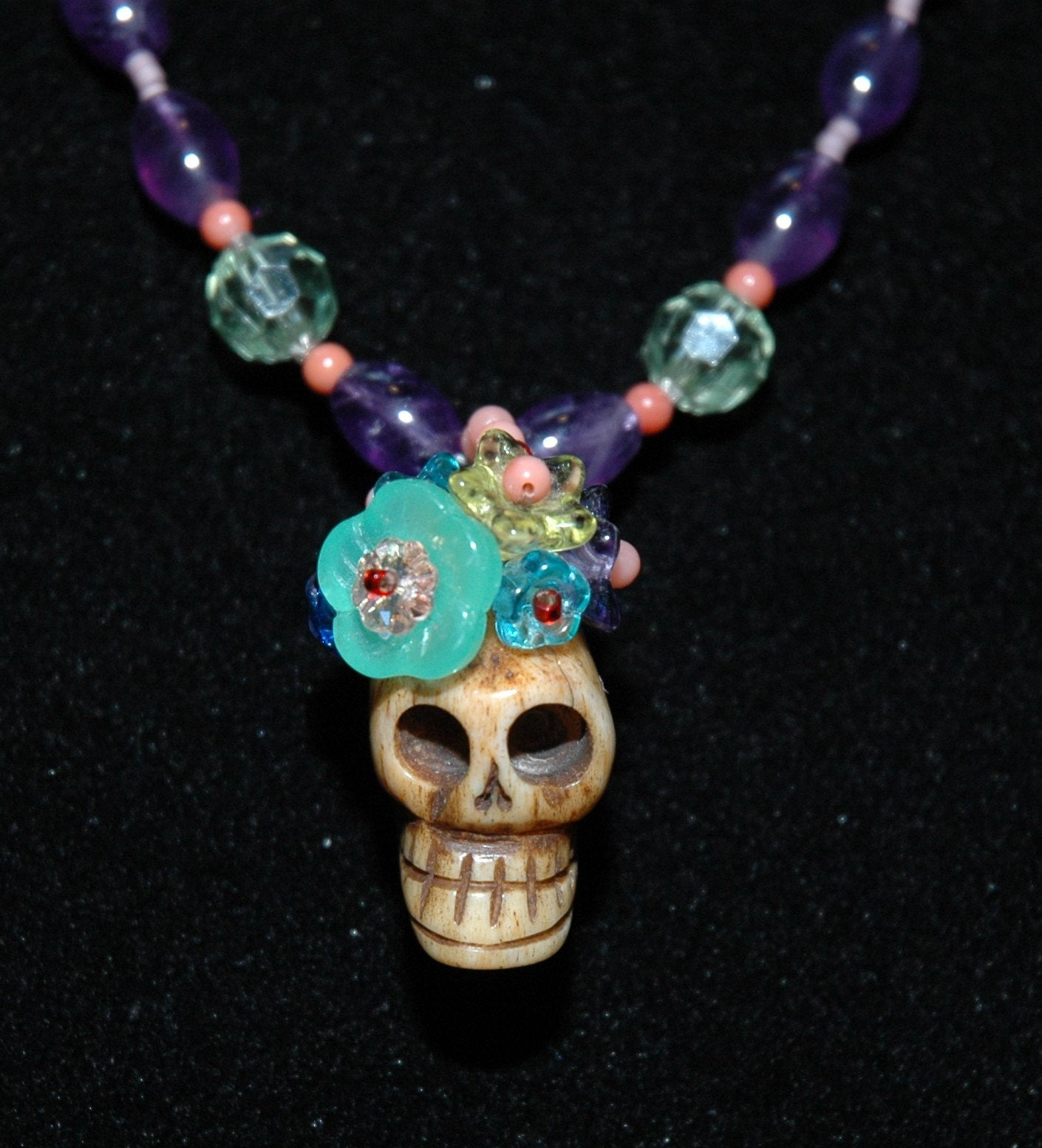 Dead Frida  Amethyst and Mint