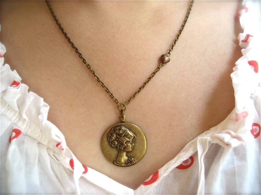 A Tribute to Jane Austen Necklace