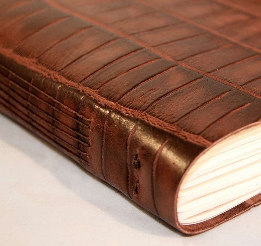 Brown Unisex Leather Journal