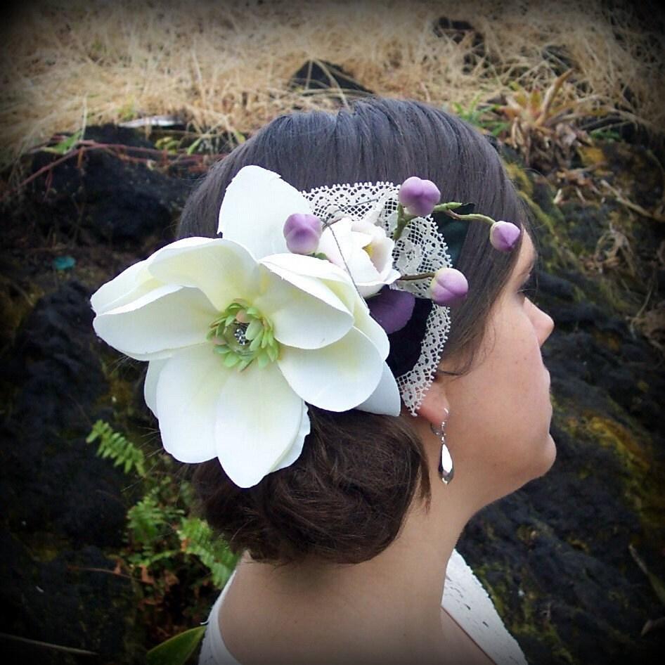 Магнолия Орхидея волосы расческой Vintage Lace - единственный в своем роде