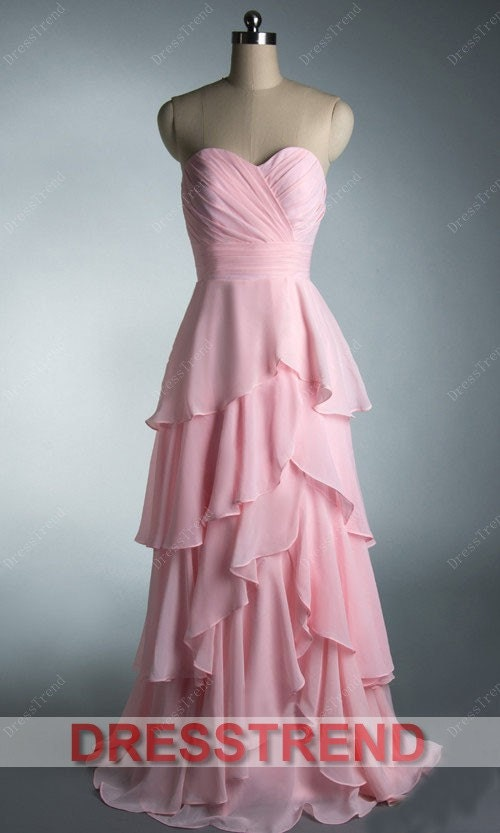 Pink Prom Dress/Long Prom Dress/Pink Bridesmaid Dress/Long Pink Dress/Pink Long Dress/Long Evening Dress