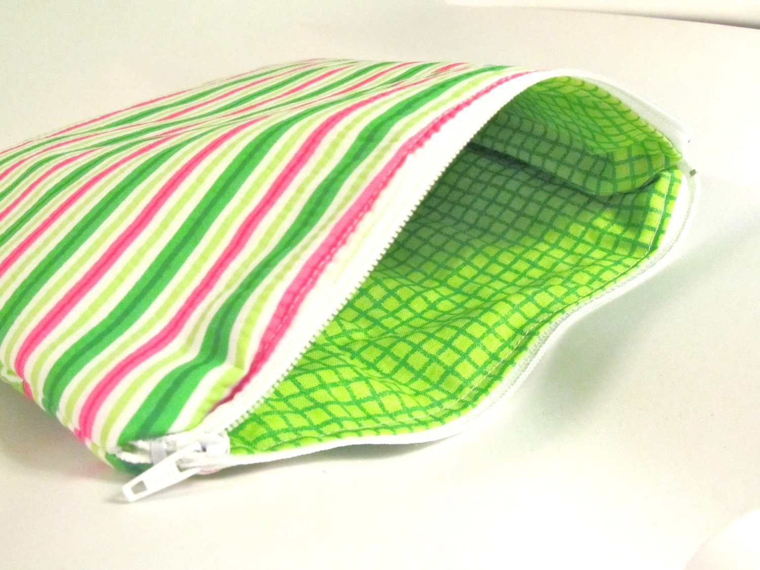 Ready to Ship- Watermelon Zippered Pouch
