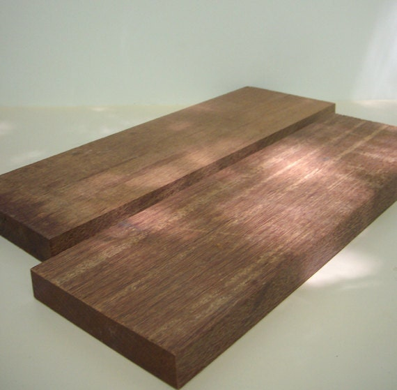 Ipe Brazilian Walnut Wood 2 Pieces By Stonesoupallstars On