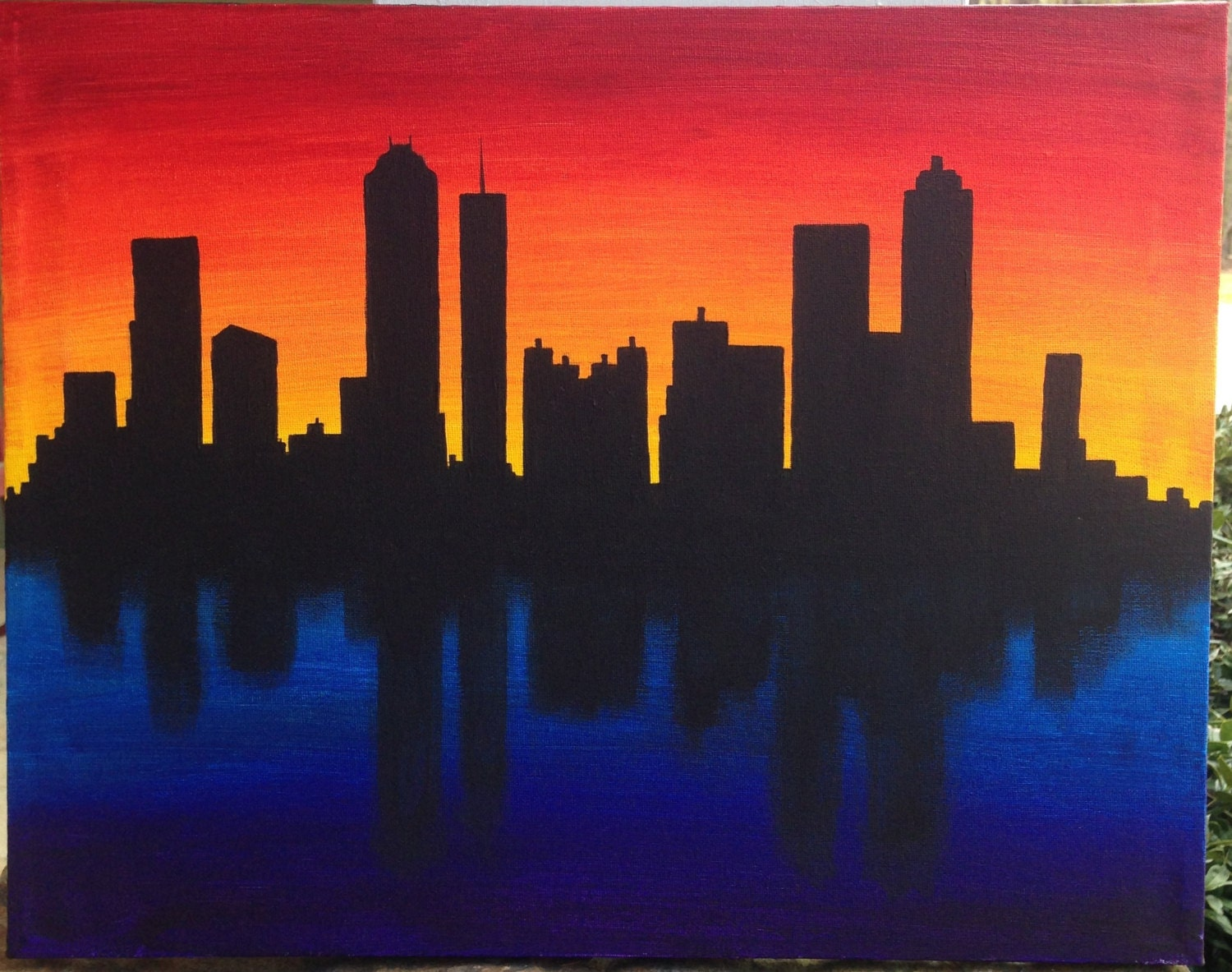 How to Paint a City Skyline in Watercolor How to Paint a City Skyline in Watercolor new foto