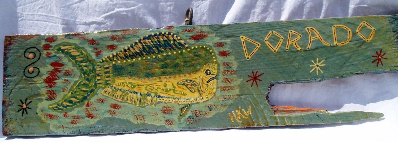 Dorado The Dolphin - Original Hong Kong Wilie Art - Key West