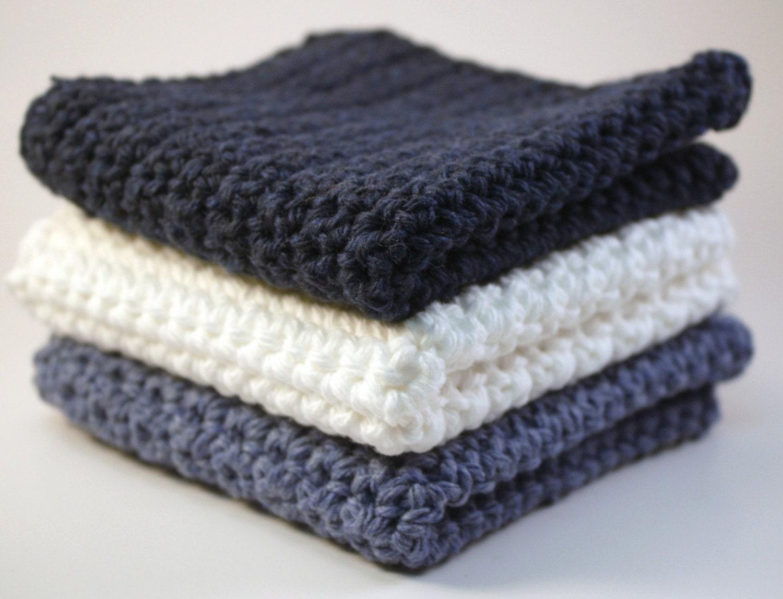 Dishcloths by Blackberrythyme on Etsy