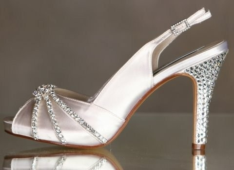 Rhinestone Shoes Sparkling For Your Special Occasion... Over 100 Colors To Choose From...Tiffany
