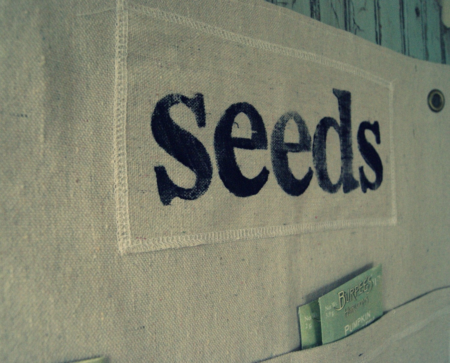 Seed Packet Caddy