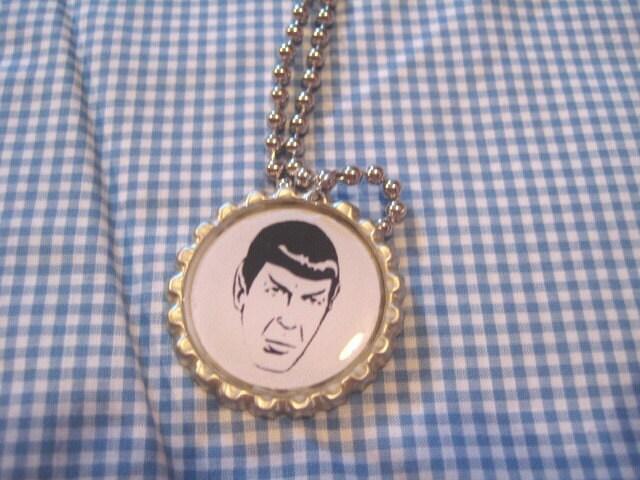 Spock Star Trek Necklace